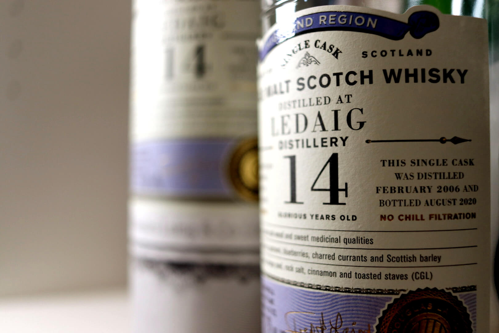 Whiskybesprechung #194: Ledaig 14 Jahre - Douglas Laing Old Particular