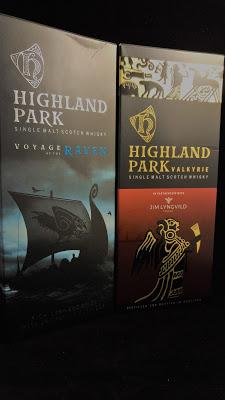Wirklich nicht mein Fall: NAS Whiskys von Highland Park.