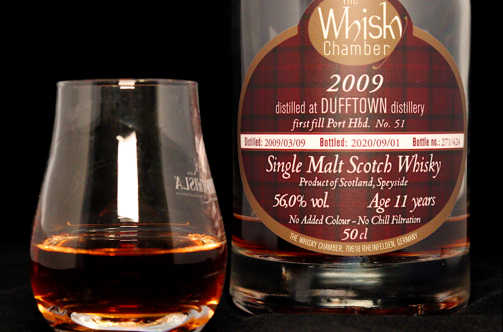 Whisky Review #190: Dufftown Distillery 2009 / 2020 - The Whisky Chamber