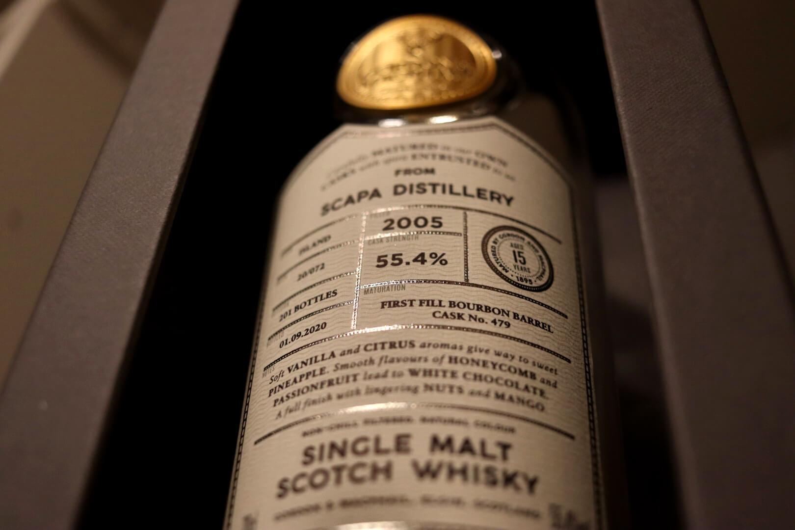 Whiskybesprechung #193: Scapa 2005 / 2020 Gordon & MacPhail