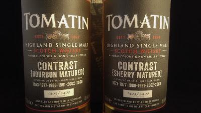 Tomatin Contrast Etikett