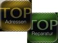 Logos der TOPAdressen- und der TOP-Kalender-App