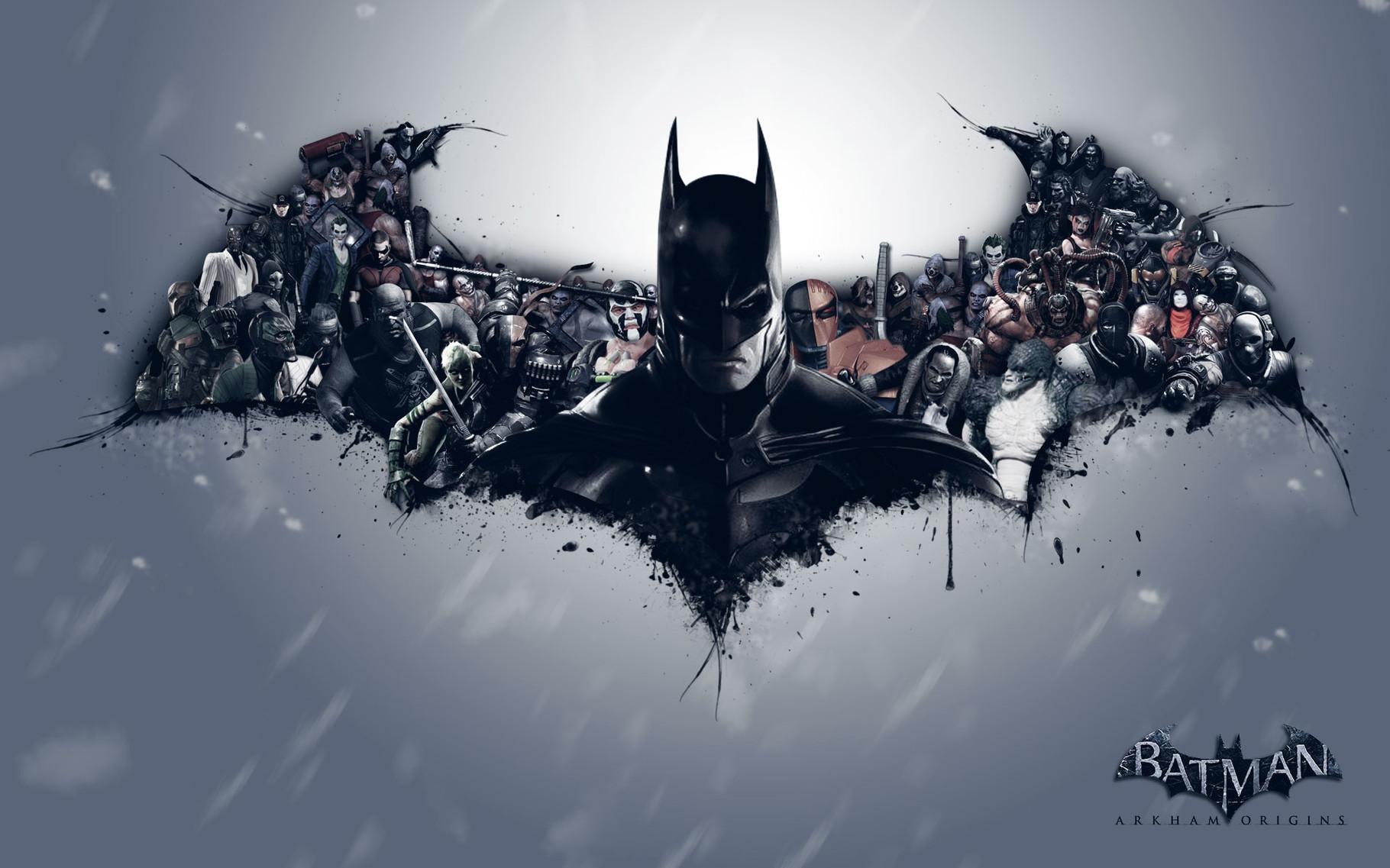 Affiche refaite pour le fun du film Batman Arkham Origins