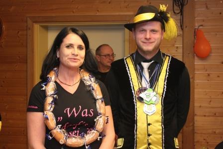 Wurstkönigin Pistole: Daniela Schmid, 59,8 Teiler