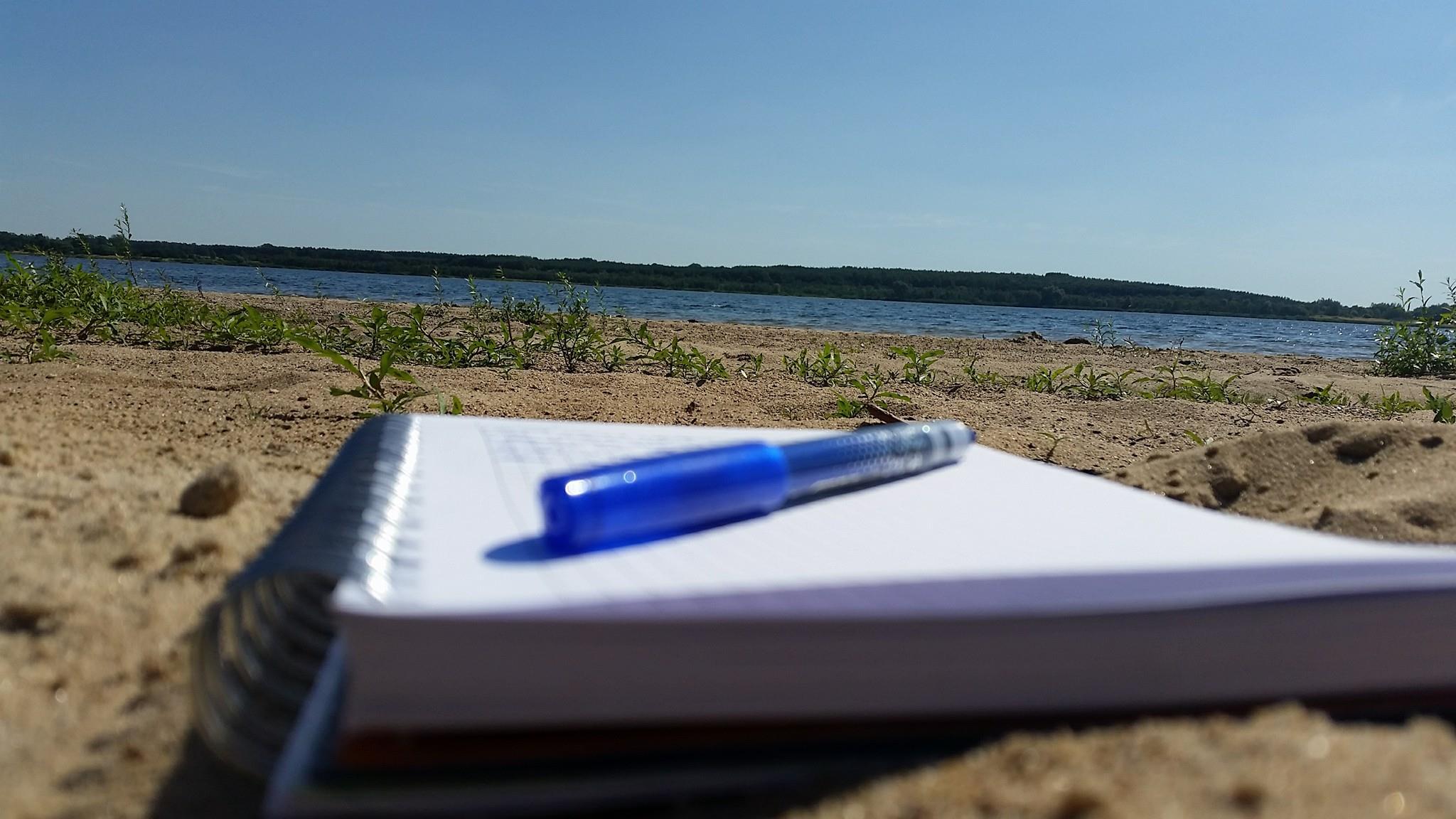 Ein Tag am See und die Ideen fließen :)