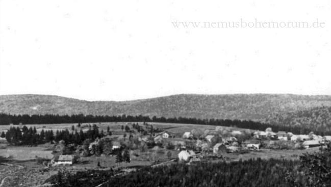 """Heinrichsberg (Jindřichova Hora): Eine versteckte """"Insel"""" im Böhmerwald."""