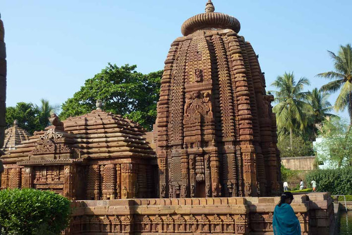 Parasurameswara Temple, Bhubaneswar in Indien