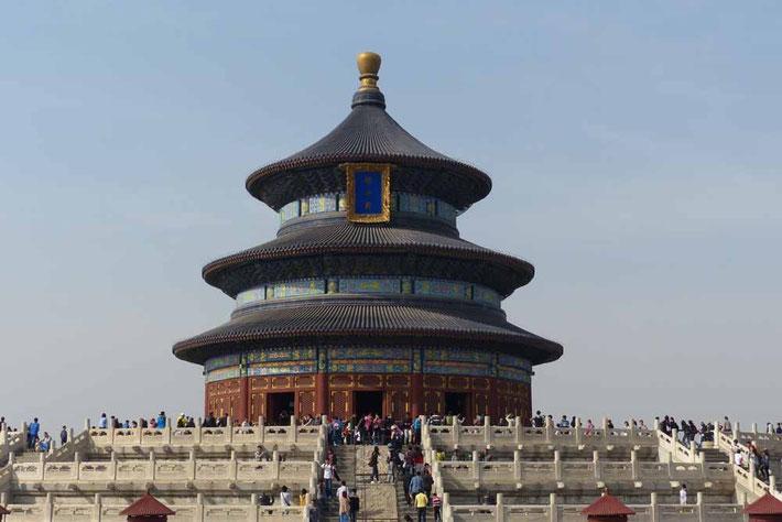 Himmelstempel ein Wahrzeichen Pekings in China