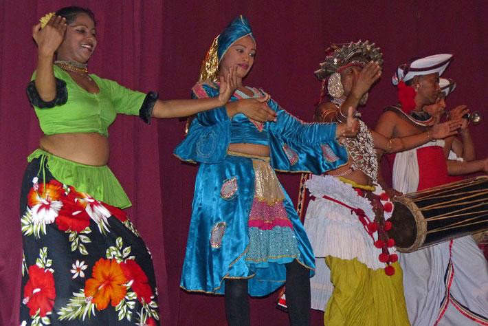 Traditioneller Tanz in Sri Lanka