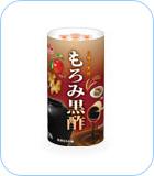 5種の素材 もろみ黒酢の画像