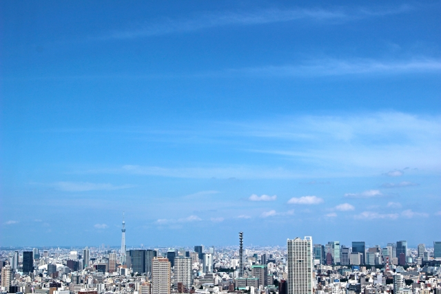 タワーマンションの眺望