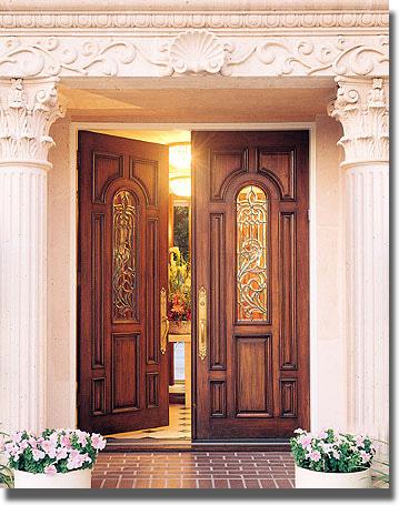 玄関ドア内開き