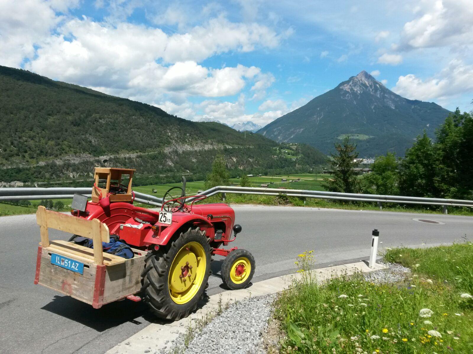unsere tollen Tiroler Berge