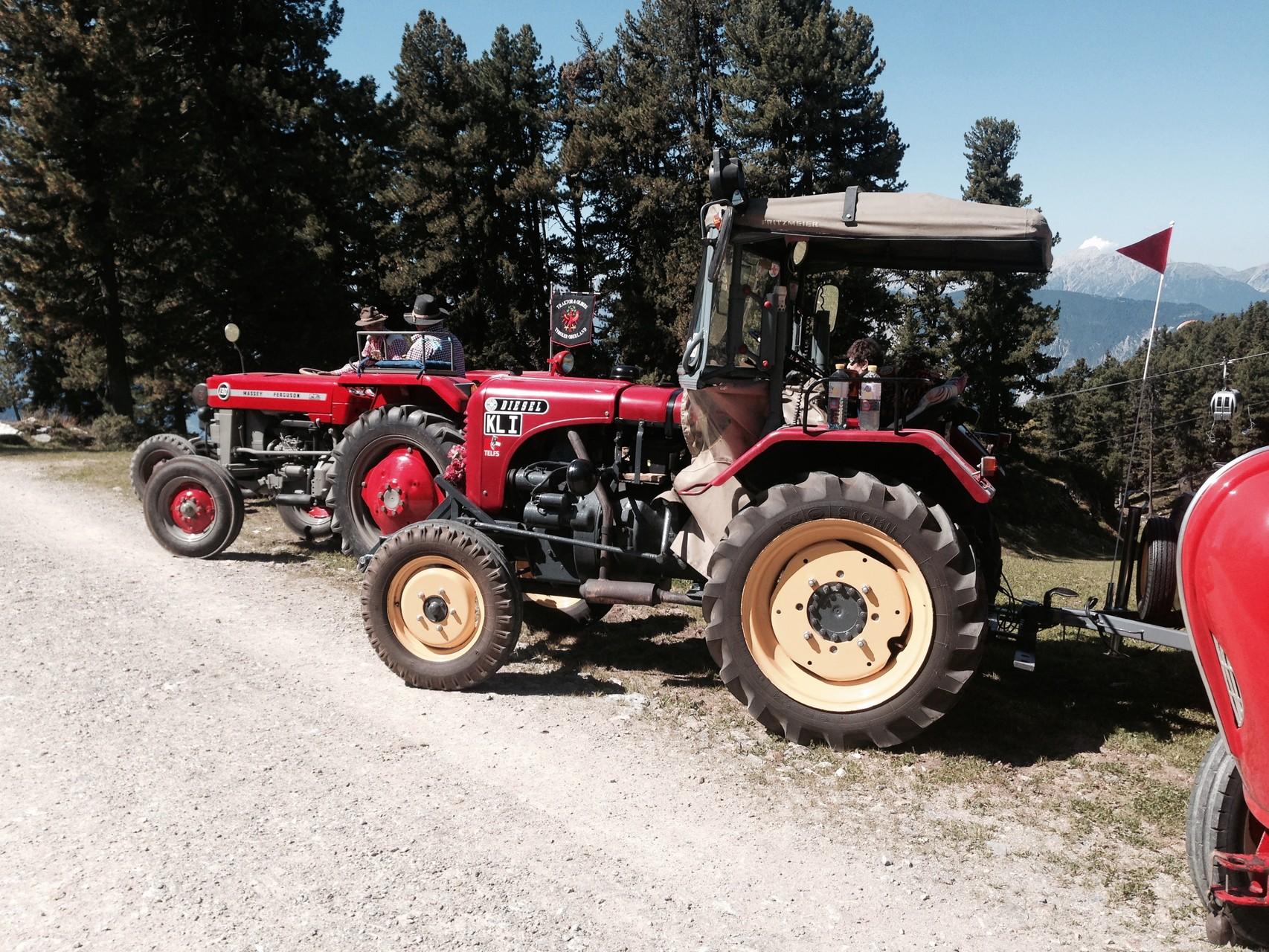 Traktor von Helmut