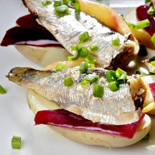 nypoteter oppskrifter sardiner tapas