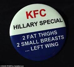 Et eksempel på uspiselig Hillary-hat