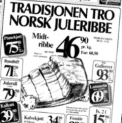Annonse fra 1983