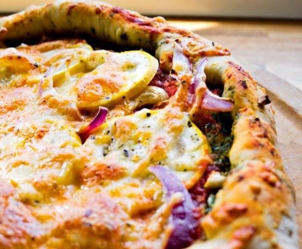 Vegetarpizza Veggispizza