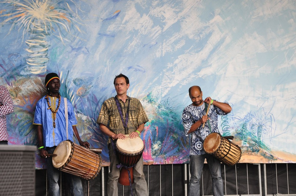 Musiciens : Cédric Yenk, Dramane Sissoko, Cheikh Lo, Thomas Marx, Cyril Aline