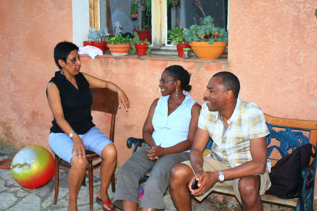 Zohra, Yassine et Abdel
