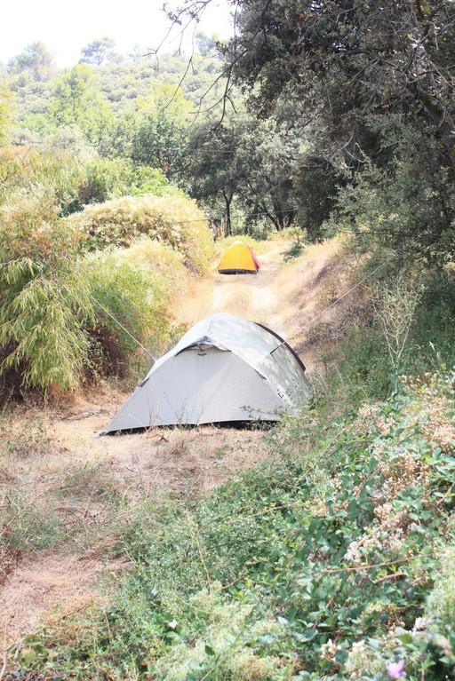 En camping à La Colle