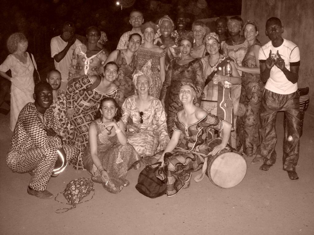 L'équipe du voyage 2010