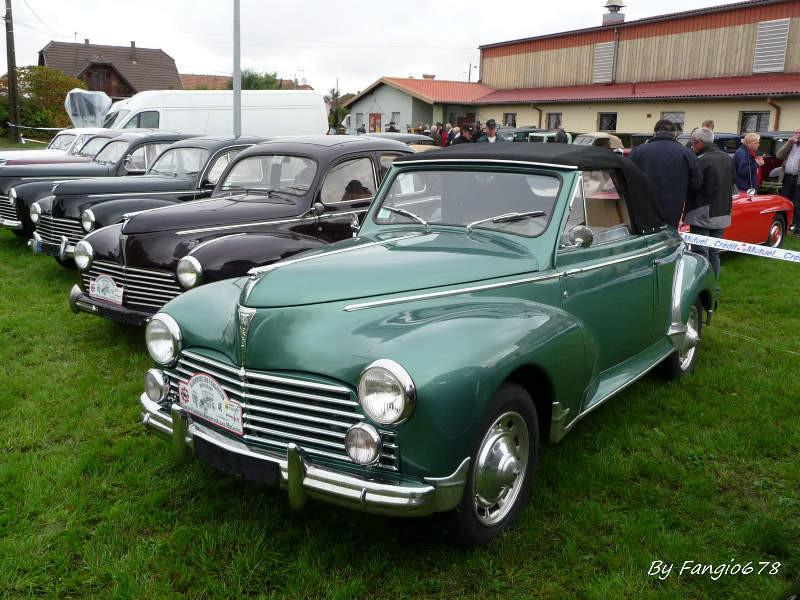 Peugeot et les 65 ans de la 203