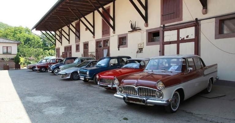 Simca(s) et anciennes à Handschuheim