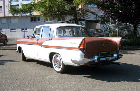 Simca Chambord 1959 Diesel