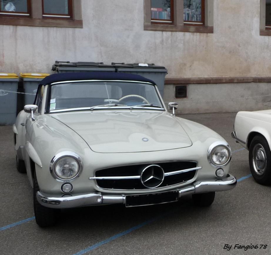 N'oublions pas la Mercedes de Hubert