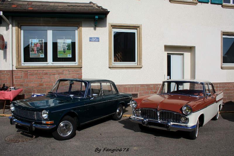 Simca 1301 et Chambord