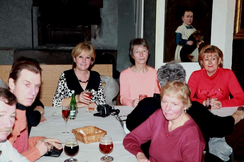 Le groupe des dames