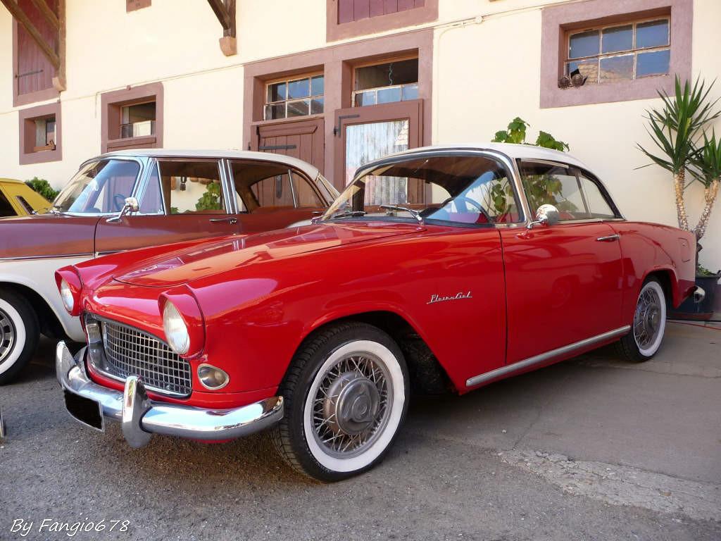 Simca Aronde Plein Ciel 1958