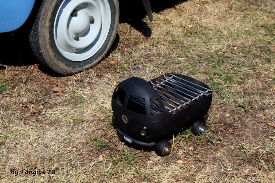 VW combi barbecue