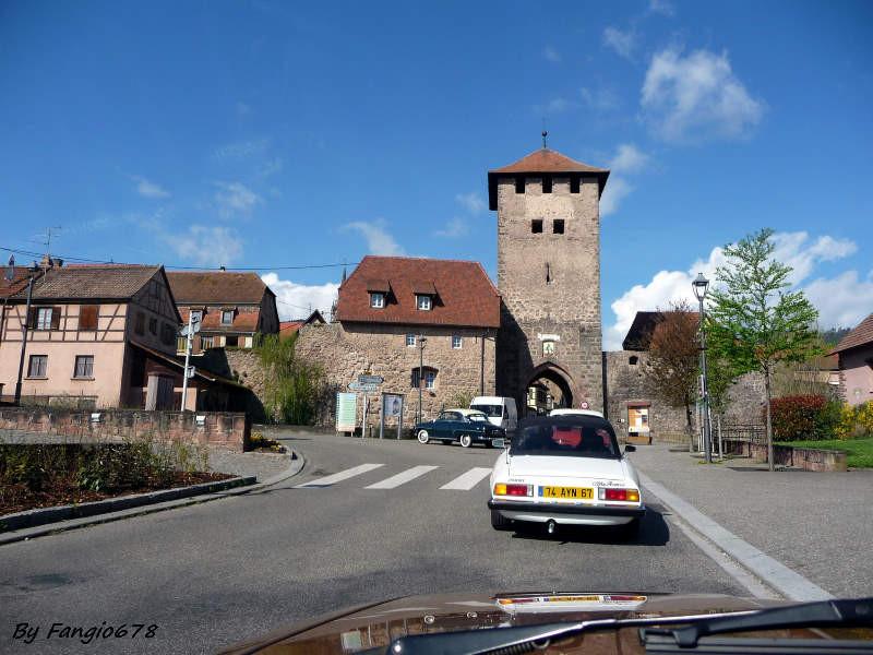 Sur la route vers Châtenois