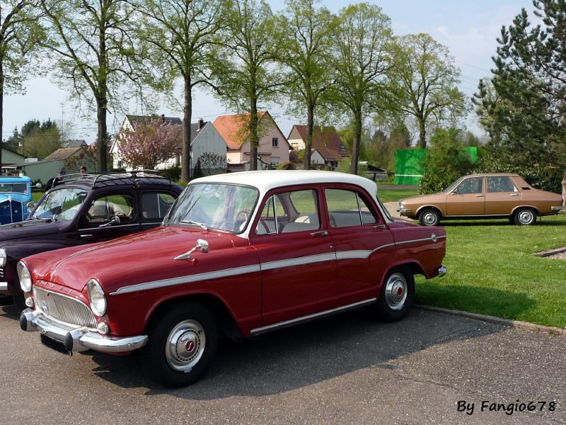 Simca P60 et Renault 12