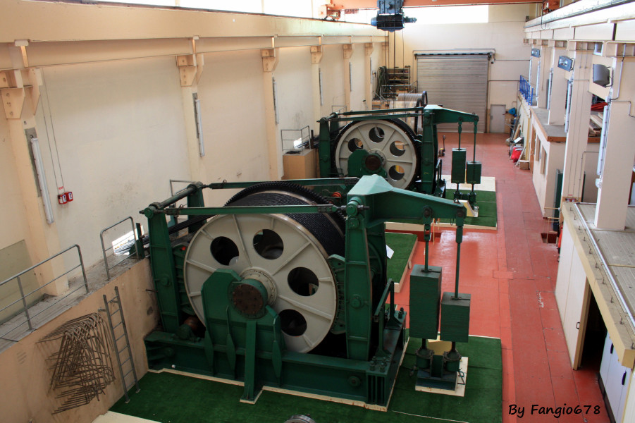 la salle des machines