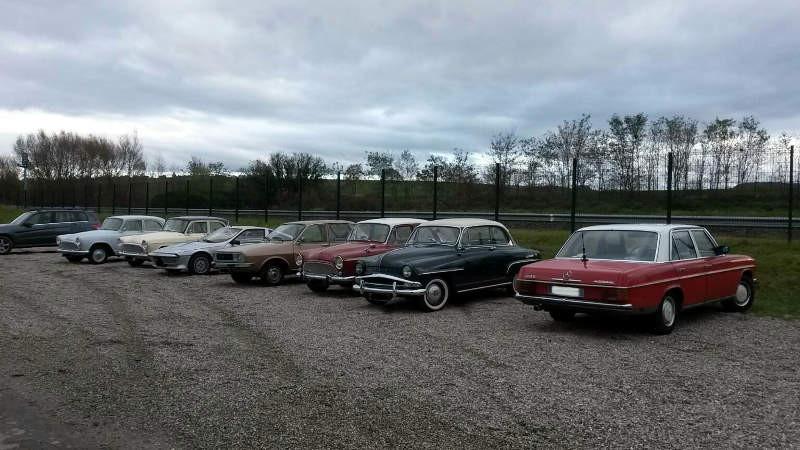 Parking du musée ELAV à Obermodern