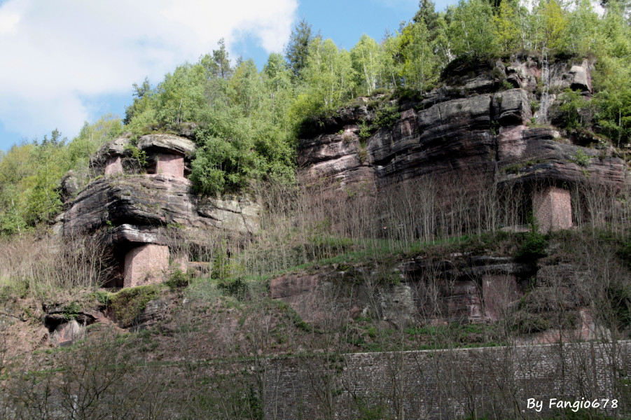 le grès des Vosges