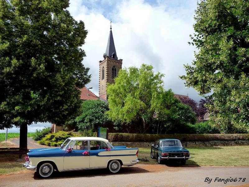 Simca et chapelle