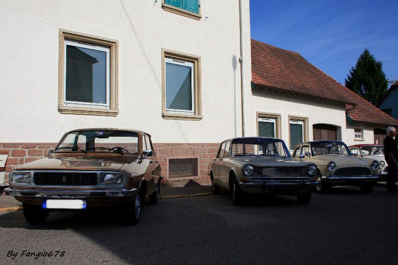 Renault 12 et simca 1301