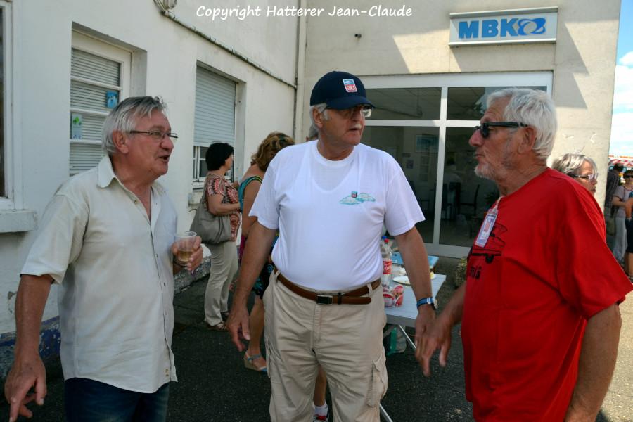 Francis, Patrick, Roland du club Simca 67