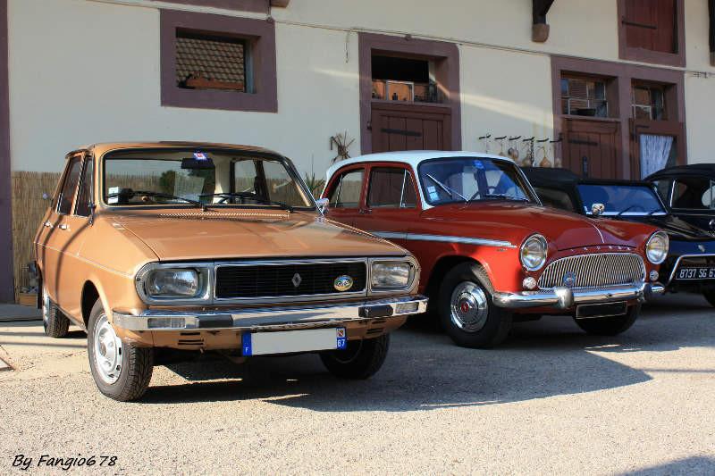 Renault 12 et Simca P60 à Handschuheim