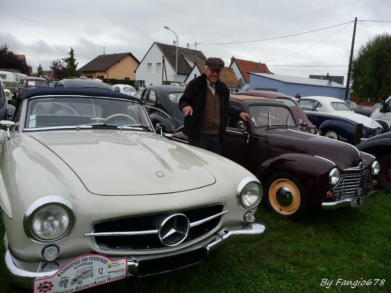 Hubert et une Simca-Mercedes