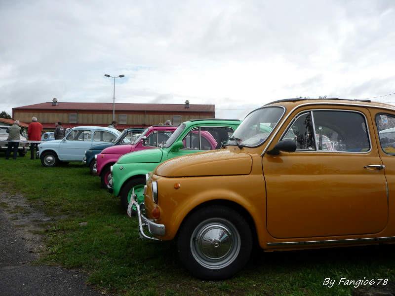 Des Fiat 500 de toutes les couleurs