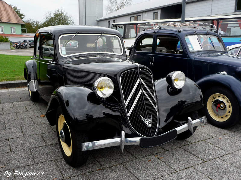 La Citroën Traction Avant de Charles
