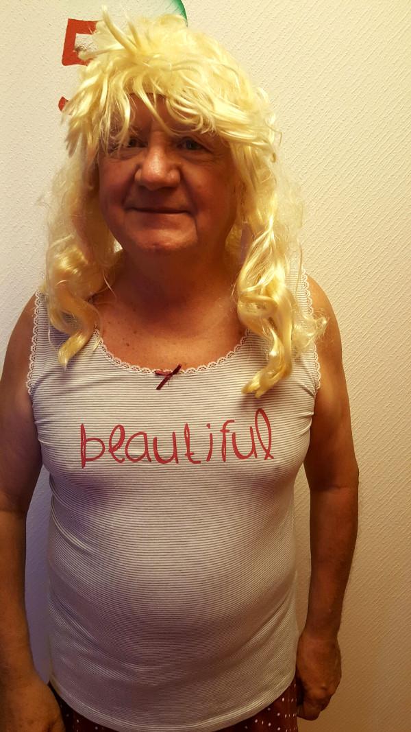 En blonde... Pierrette