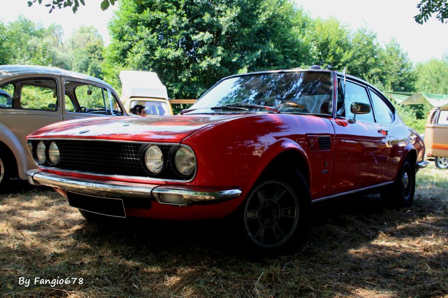 Une rare Fiat Dino 2400