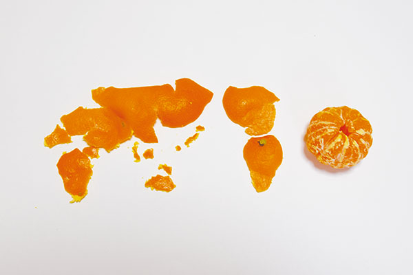 みかんせい a planet of mandarin orange