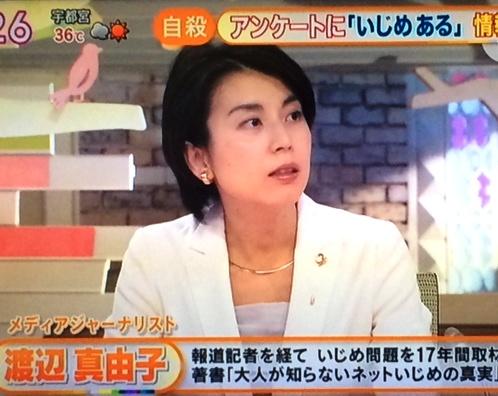 渡辺真由子メディア出演